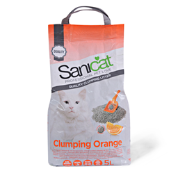 Posip/macke Sanicat Clumping Orange 5l