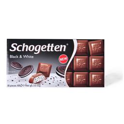 Cokolada black&white Schogetten100g