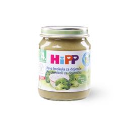 Kasica Hipp brokoli u pirincu 125g