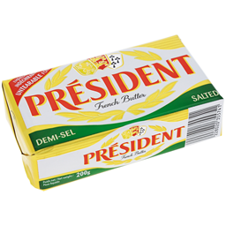 Maslac President slani 200g
