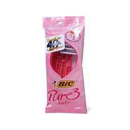 Brijac Bic Pure 3 lady Pink P of 4