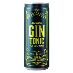 Gin tonic Barman 0.33L