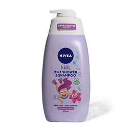 Gel za tus.Nivea 2u1 Kids(devojci.)500ml