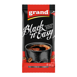 Kafa mlevena Black&Easy Grand 8g