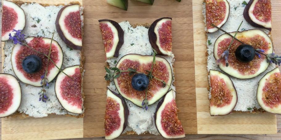 Vegetarijanski sendvič sa smokvama