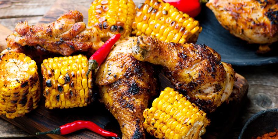 Pečeni bataci i kukuruz