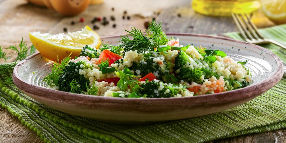 Kus-kus salata sa brokolijem