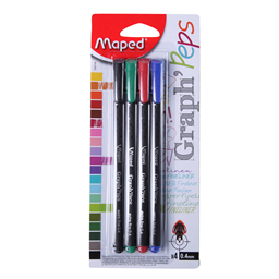 Fine liner Maped Gr Peps 0,4stand.1/4