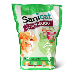 Silik.posip Sanicat colour4you green 5l