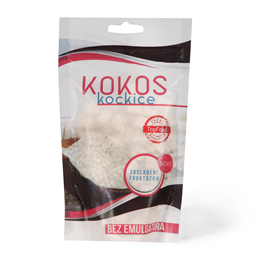 Kokos kockice Top Food 100g