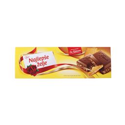 Cokolada Najlepse zelje sa keksom 250g