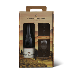 Vino Baron d arignac red+2 case