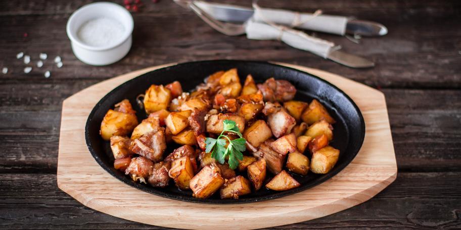 Pečeni krompir sa mesom