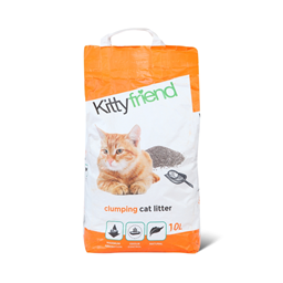 Posip za macke grudvajuci Kitty 10l