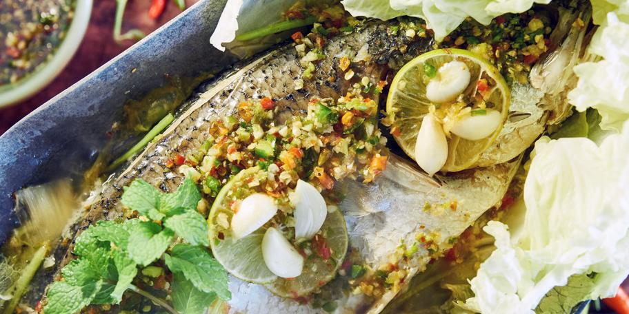 Riba pečena u rerni