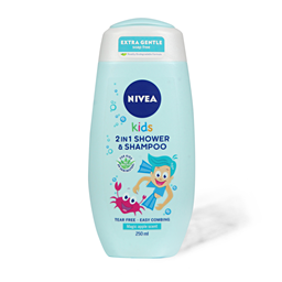 Gel za tus.Nivea 2u1 Kids (decaci) 250ml
