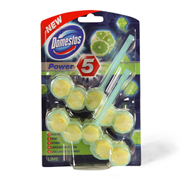 Domestos rb Power 5 lime 2X55g