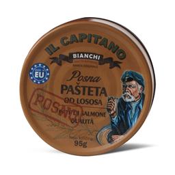 Pasteta Il Capitano losos 95g posna