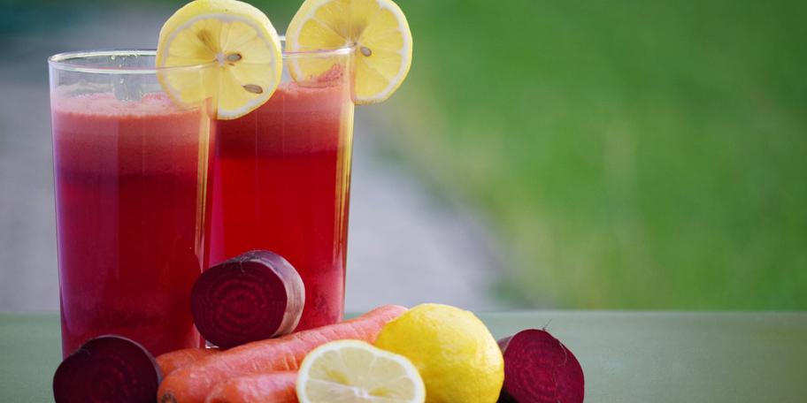 Sok od cvekle i limuna