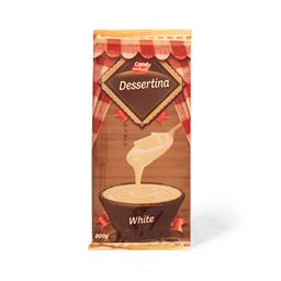 Mlecna krem tabla Dessertina bela 200g