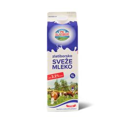 Sveze mleko 3.2% Zlatiborsko 1l