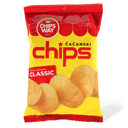 Cips classic Chips Way 90g