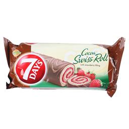 Rolat 7Days Cacao Swiss Rolss Straw.200g