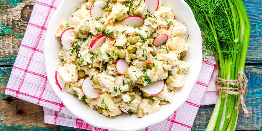 Krompir salata sa rotkvicama