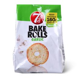 Dvopek Bake Rolls Garlic 160g