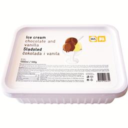 Sladoled cokolada vanila 365 1l/470g