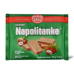 Napolitanke Hazelnut bez secera 50g