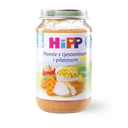 Kasica Hipp povrce,testo,piletina 220g