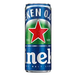 Pivo Heineken bezalkoholno limenka 0,33l