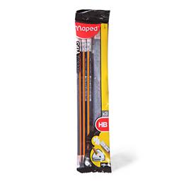 Olovka maped gum black peps 1/3