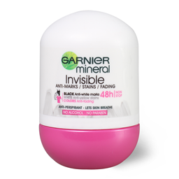 Roll-on mineral Invisib.48h Garnier 50ml