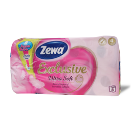 T.papir Zewa Exclusive UltraSoft 4sl 8/1
