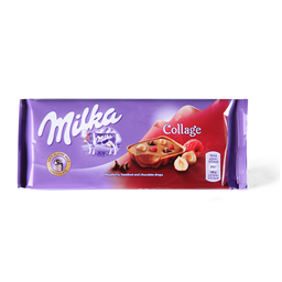 Cokolada Milka Collage fruit 93g