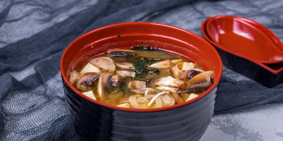 Miso supa sa pečurkama