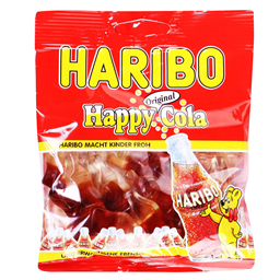 Bombona gumena Haribo Happy cola 100g 32335,Rim Group doo