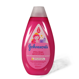Sampon shiny drops Johnson baby500ml new