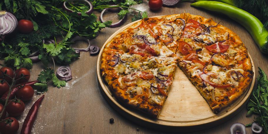 Pica sa povrćem i sirom