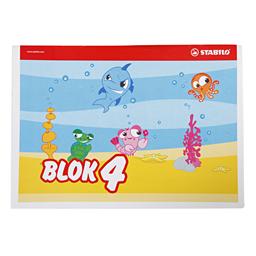 Blok br.4 Stabilo