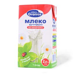 Mleko sterilizovano 2.8% Granice 1L