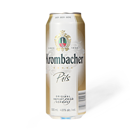 Pivo Krombacher pils can 0.5l