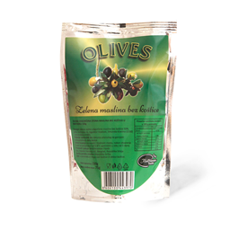 Zelena maslina BK doypak 150g