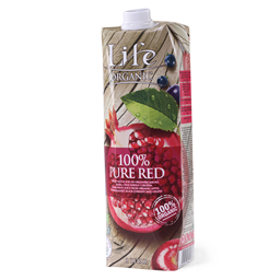 Sok Life organic pure red 100% Nectar 1L