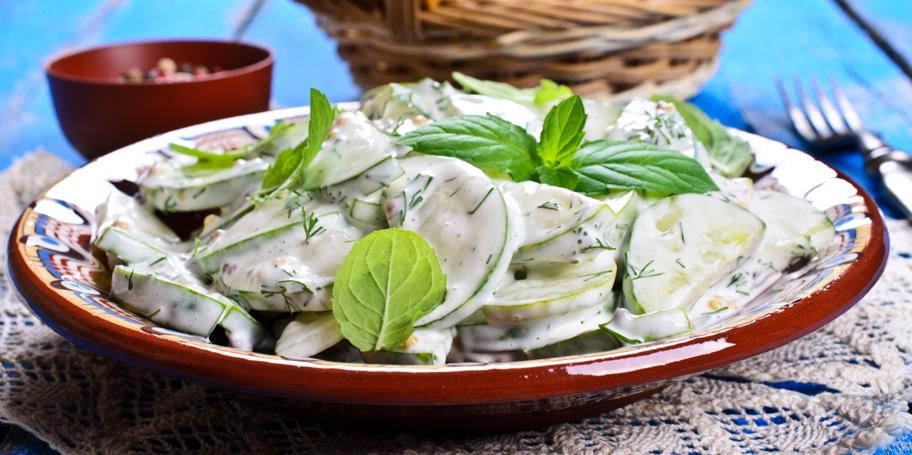 Krastavac salata u jogurtu