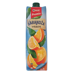 Sok orange nectar 50% Premia 1l