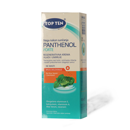 Topten after sun panth.forte cream100ml