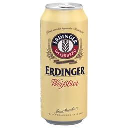 Pivo belo Erdinger limenka 0.5l